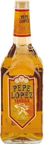 PEPE LOPEZ Gold tequila 40%